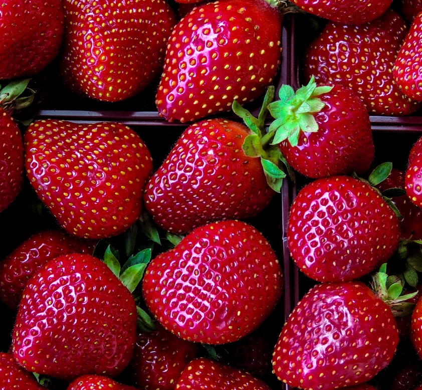 De jolies fraises. (Photo : Unsplash)