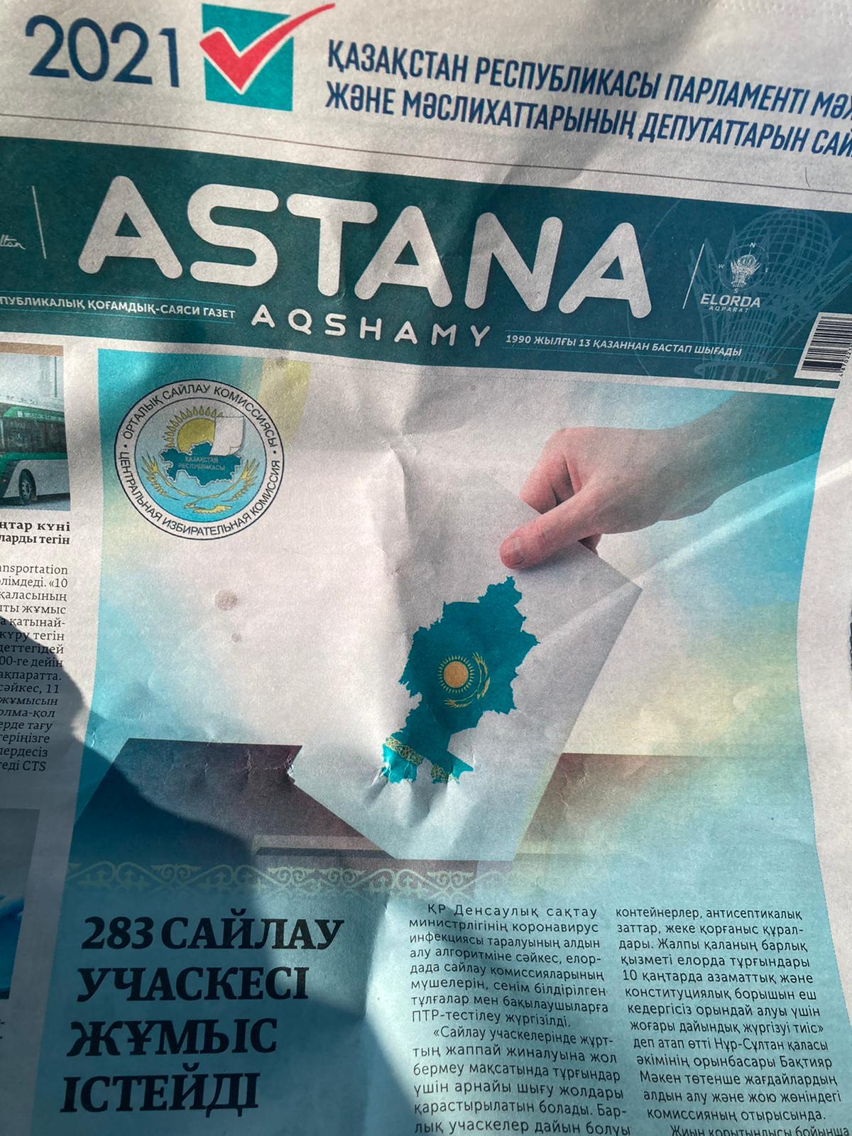 élections législatives Kazakhstan