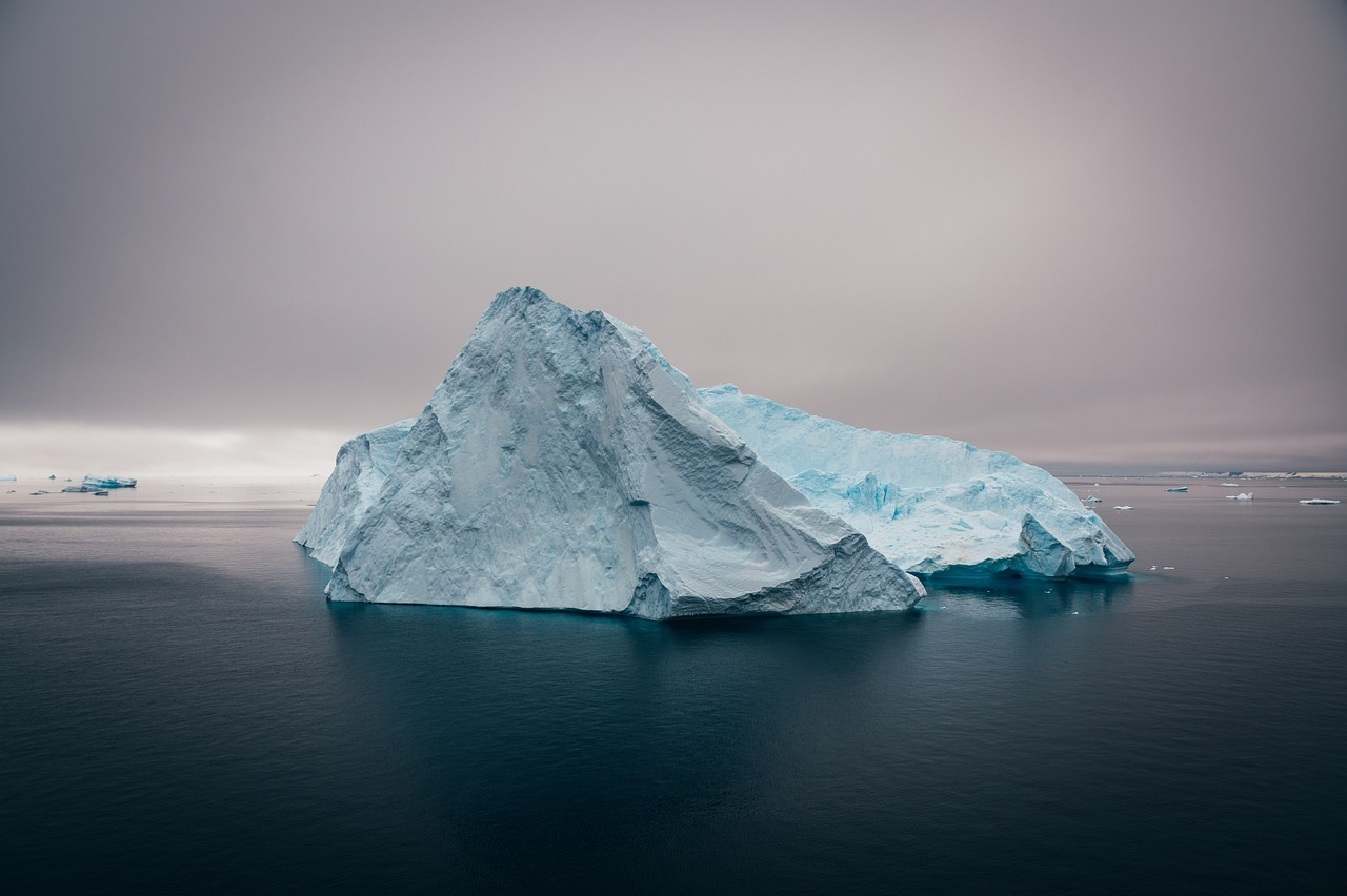 separation iceberg Antarctique