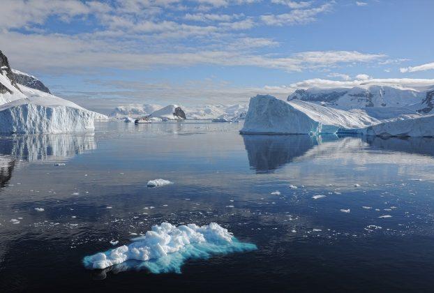 Antarctique glacier fin du monde