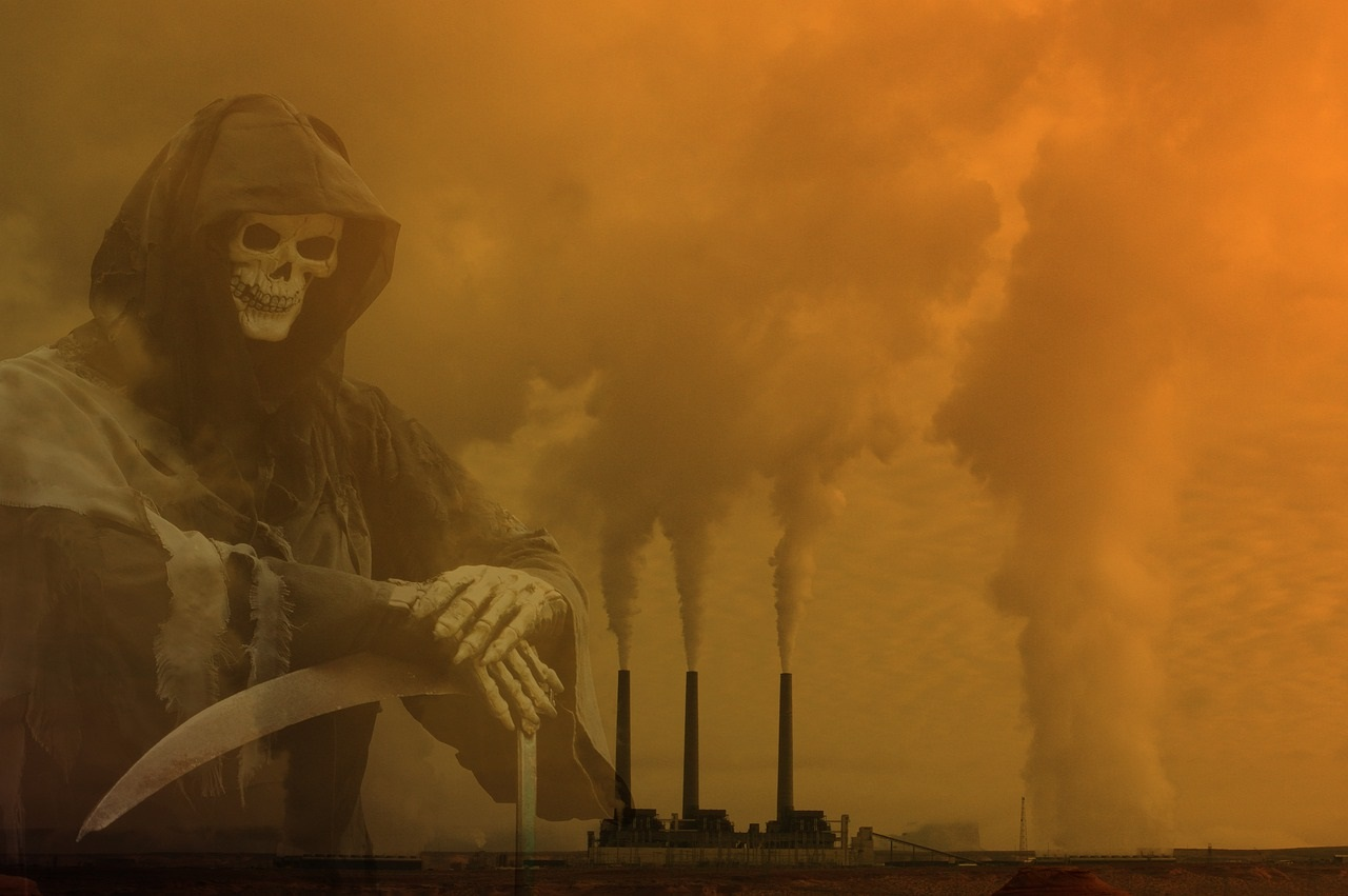 pollution air morts france