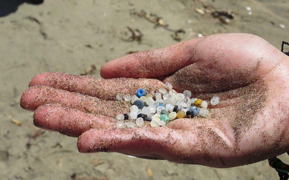 pollution billes plastique