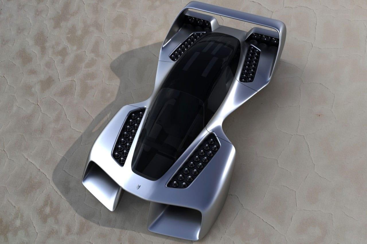 hypercar volante Leo Coupe